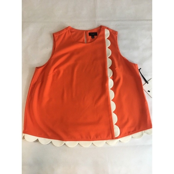 c141a250fc Victoria Beckham for Target Plus Size Shirt Orange